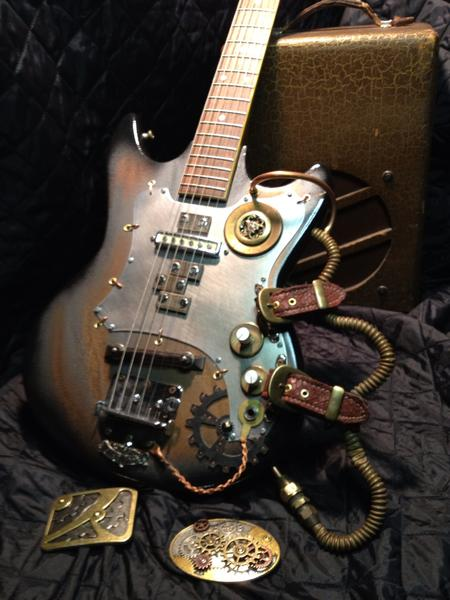 Classic Steampunk Fantasy Time Machine Built By Kenny